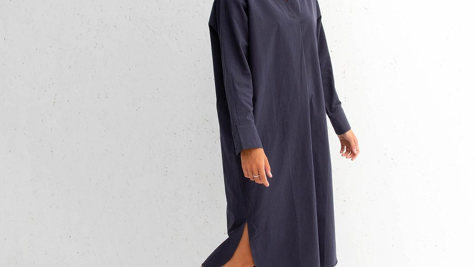 Becca Dress (Navy)