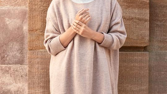 Cabena (Oversize) Sweater (Blue)