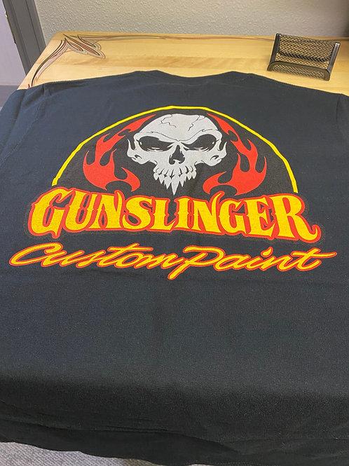 Polyester Gunslinger Logo Shirt