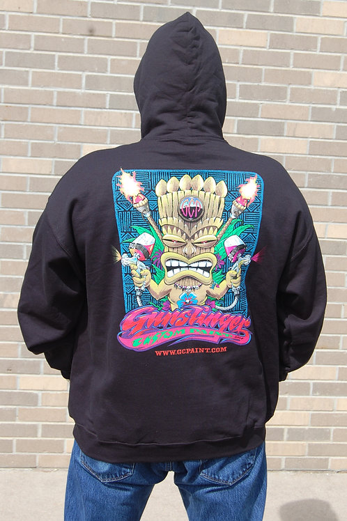 Tiki Madness Pull-Over Hoodie