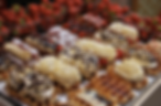 Belgian waffles for your Bruges wedding.