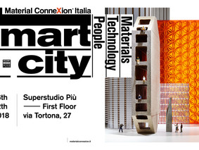 "Sharing Cities partecipa alla mostra ""Smart City: Materials, Technologies & People"""