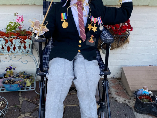 The Polegate Scarecrow Festival raised over £1300 for Charity