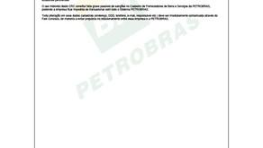 CRC PETROBRAS - Validade até 21 marco 2021