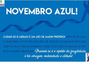 Novembro azul: cuide-se, previna-se!