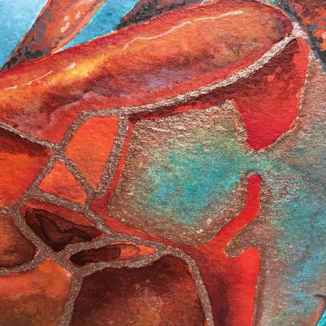 Padstow Brown Crab (detail).