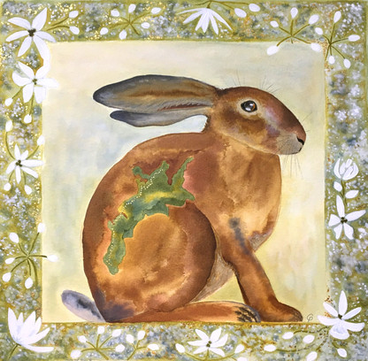 Wild Garlic Cotswold Hare