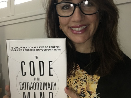 Mindful Living Book club# The Code of the Extraordinary Mind