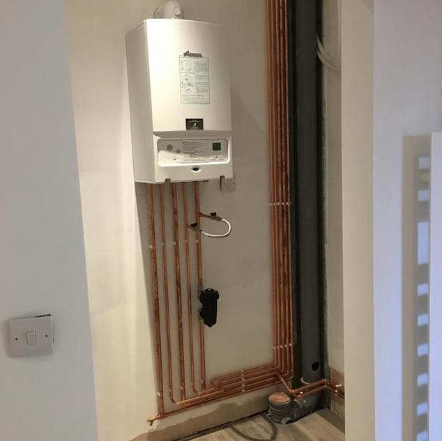 Complete Boiler Install