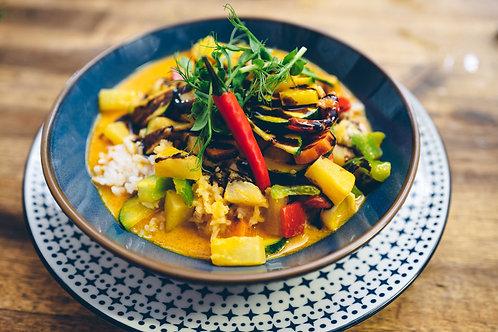 Pineapple Spiced Thai Curry mit Chicken