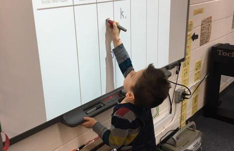 Preschool Smartboard