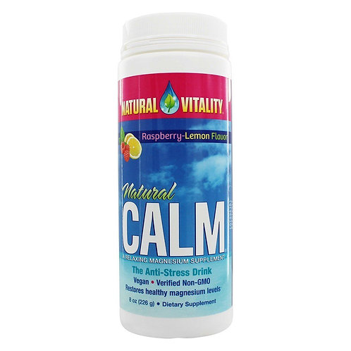 Calm Anti-Stress Rasp/Lem(8oz)