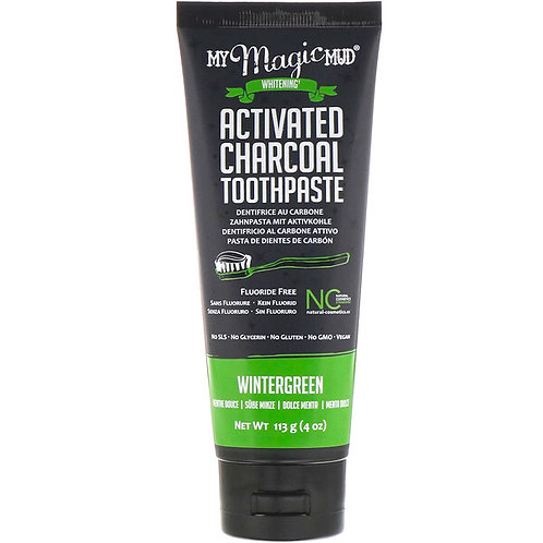 Wintergreen Charcoal Toothpaste