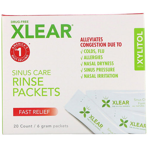 Xylitol Rinse Packets (20)