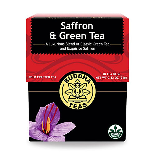 Saffron Green Tea