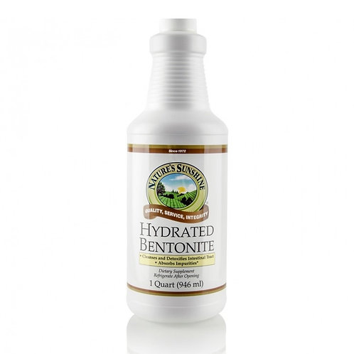 Hydrated Bentonite