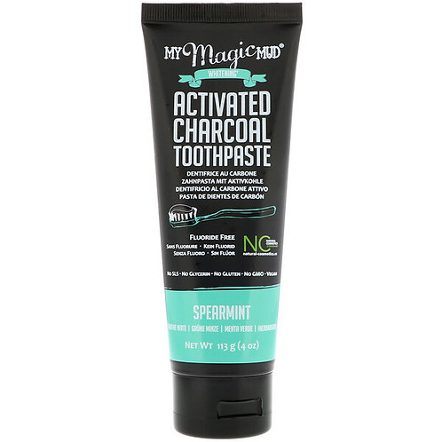 Spearmint Charcoal Toothpaste