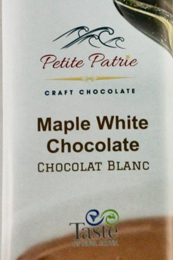 Maple White Chocolate with Almonds