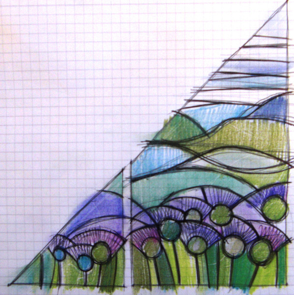 GABLE END - initial drawing