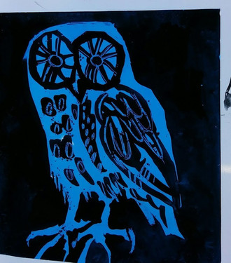 GHENTY FARM - wee owl