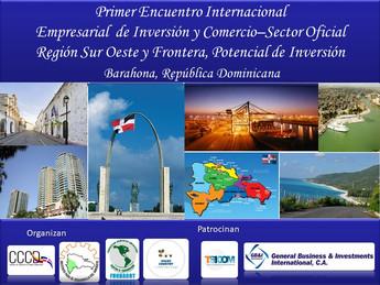 CCCD Organiza Primer Encuentro Empresarial Internacional de Comercio e Inversión, Barahona 2021