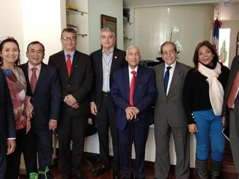 Encuentro Embajada Dominicana en Colombia y Cámara de Comercio Colombo Dominicana