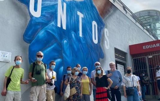 Periodistas franceses maravillados por alegría y trato dominicano