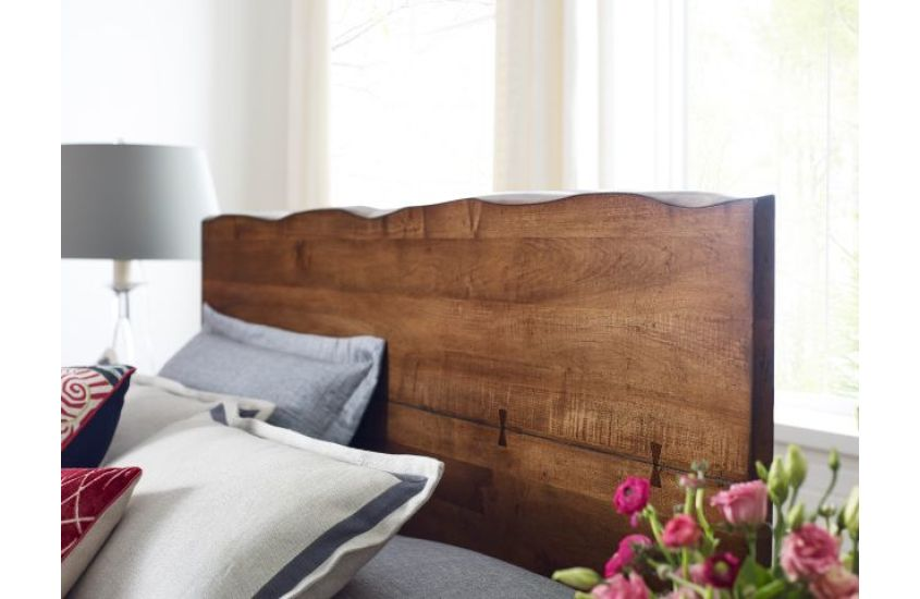 Craftsman Live Edge Bed