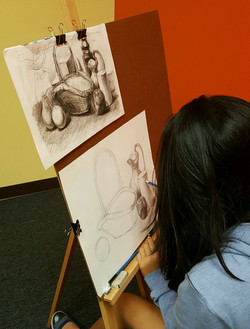 Adv Art Lesson