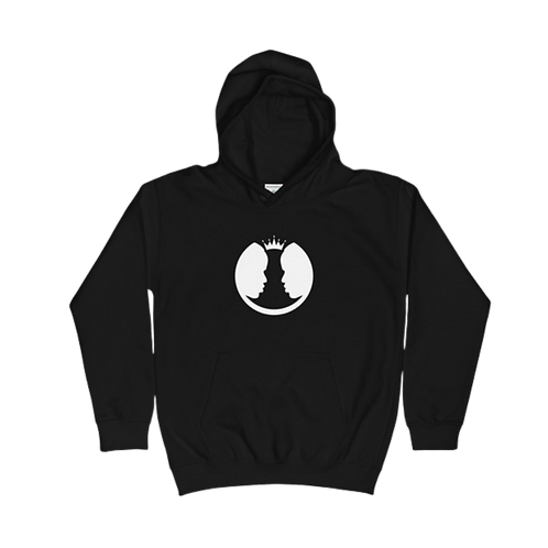 Kids | Classic Hoodie (Black and White)