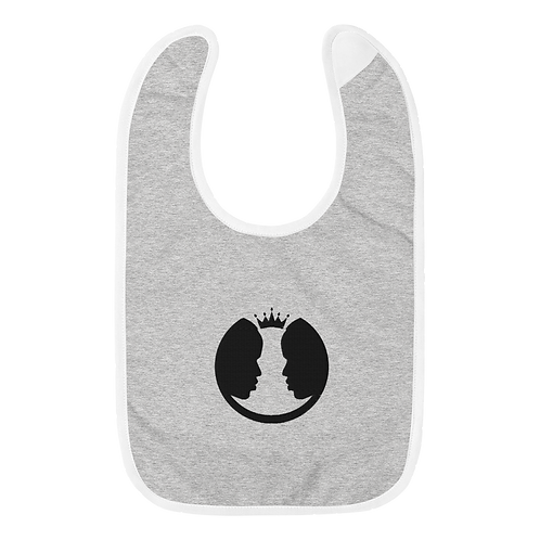Classic Embroidered Baby Bib