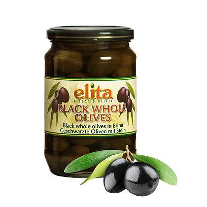 Греческие маслины с косточкой S.S. Mammouth 70-90  720мл