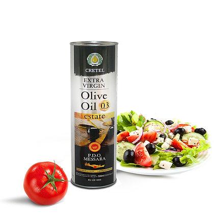 Масло оливковое CRETEL ESTATE P.D.O. Мessara 1л