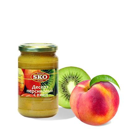 Десерт персиковый с киви SKO 350мл