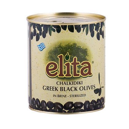 Греческие  маслины  без  косточки Colossal  121-140 ELITA 850мл