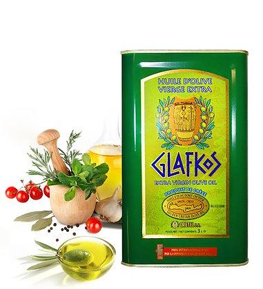 Масло оливковое Glafkos 3л