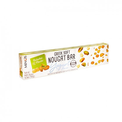 Нуга с йогуртом, мастикой, фисташками MINOS 150г