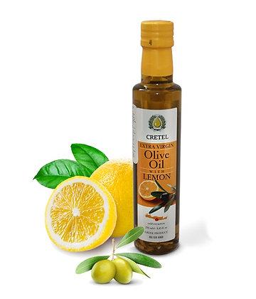 Масло оливковое с лимоном CRETEL 250мл