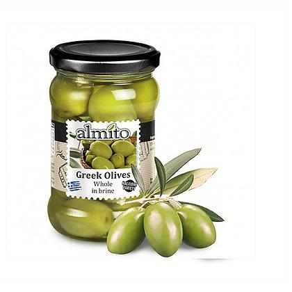 Греческие оливки с косточкой ALMITO 320мл