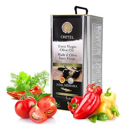 Масло оливковое CRETEL BIO/ORGANIC 5л