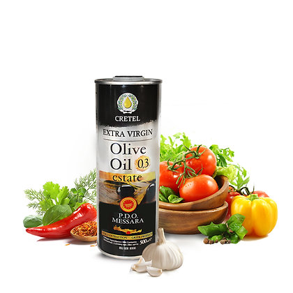 Масло оливковое CRETEL ESTATE P.D.O. Мessara 500мл