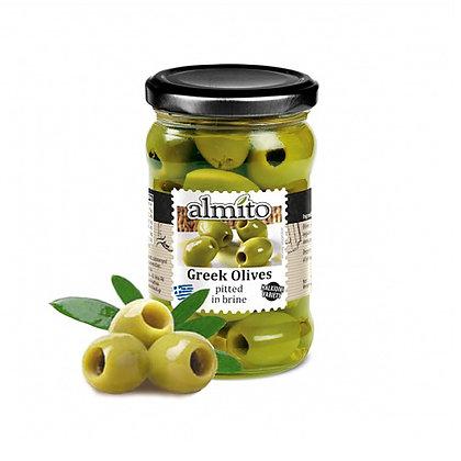 Греческие оливки без косточки ALMITO 320мл
