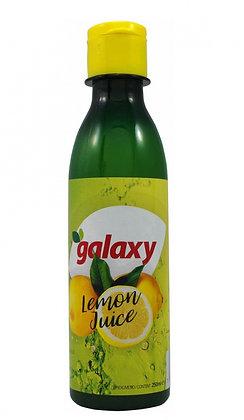 "Лимонный сок 100% ""GALAXY"" 250 мл, пэт/б (Греция)"
