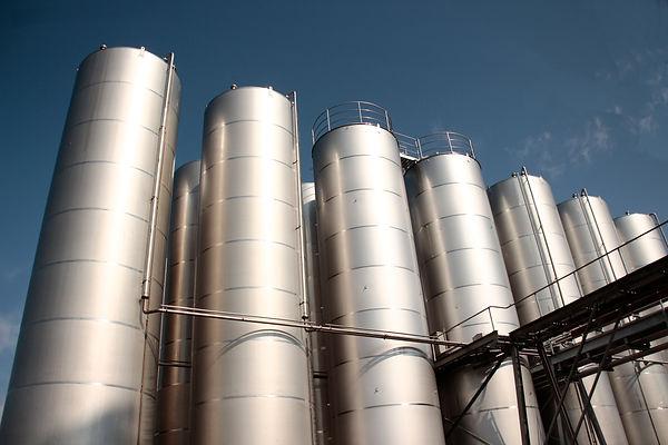 Silopark Heerugowaard. Het betrefd hier een azijn fabriek.