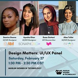 Design Matters: UI/UX Panel