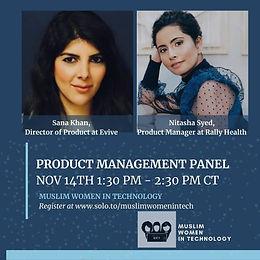Product Management Panel