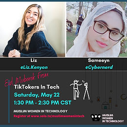 Eid Mubarak from TikTokers in Tech
