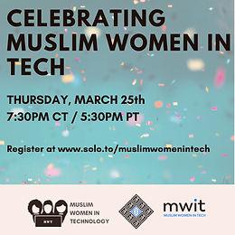 Celebrating Muslim Women in Tech