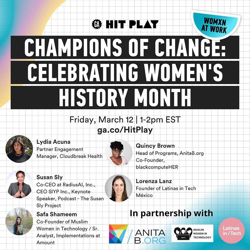 Womxn At Work | Champions of Change