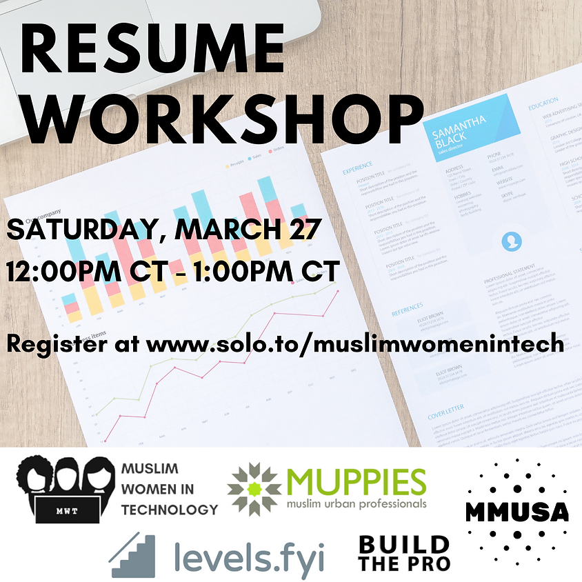Resume Workshop with Muppies and MMUSA
